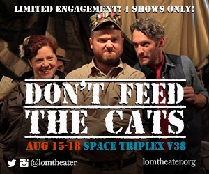 Dont Feed the Cats @EdFringe!